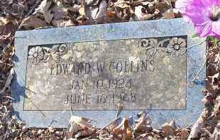 COLLINS, EDWARD W. - Crawford County, Arkansas | EDWARD W. COLLINS - Arkansas Gravestone Photos