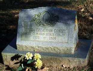 CHEATHAM CONLEY, RHODA - Crawford County, Arkansas | RHODA CHEATHAM CONLEY - Arkansas Gravestone Photos