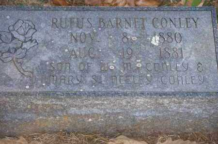CONLEY, RUFUS BARNET - Crawford County, Arkansas | RUFUS BARNET CONLEY - Arkansas Gravestone Photos