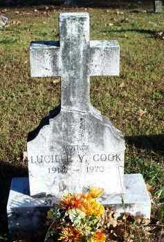 COOK, LUCILLE V - Crawford County, Arkansas | LUCILLE V COOK - Arkansas Gravestone Photos