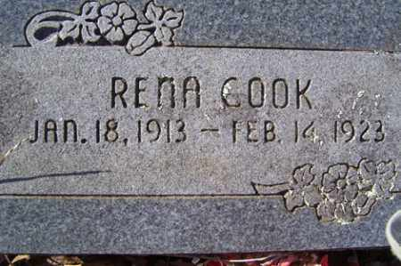 COOK, RENA - Crawford County, Arkansas | RENA COOK - Arkansas Gravestone Photos