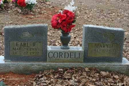 CORDELL, EARL - Crawford County, Arkansas | EARL CORDELL - Arkansas Gravestone Photos