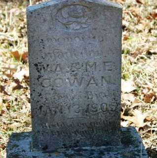 COWAN, INFANT DAUGHTER - Crawford County, Arkansas | INFANT DAUGHTER COWAN - Arkansas Gravestone Photos