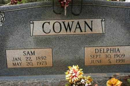 COWAN, DELPHIA - Crawford County, Arkansas | DELPHIA COWAN - Arkansas Gravestone Photos
