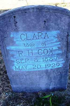 RADER COX, CLARA - Crawford County, Arkansas | CLARA RADER COX - Arkansas Gravestone Photos