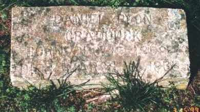 CRADDUCK, DANIEL BOON - Crawford County, Arkansas | DANIEL BOON CRADDUCK - Arkansas Gravestone Photos