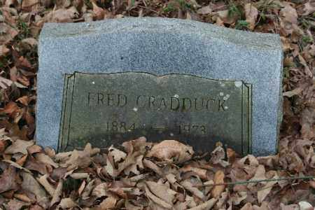 CRADDUCK, FRED - Crawford County, Arkansas | FRED CRADDUCK - Arkansas Gravestone Photos