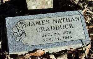 CRADDUCK, JAMES NATHAN - Crawford County, Arkansas | JAMES NATHAN CRADDUCK - Arkansas Gravestone Photos