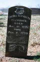 MCCURDY CRADDUCK, RACHEL ELIZABETH - Crawford County, Arkansas | RACHEL ELIZABETH MCCURDY CRADDUCK - Arkansas Gravestone Photos