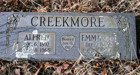 SIMS CREEKMORE, EMMA - Crawford County, Arkansas | EMMA SIMS CREEKMORE - Arkansas Gravestone Photos