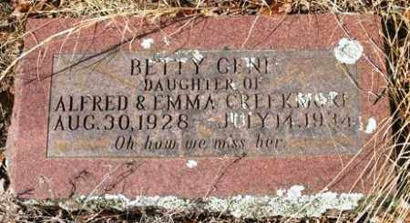 CREEKMORE, BETTY GENE - Crawford County, Arkansas | BETTY GENE CREEKMORE - Arkansas Gravestone Photos