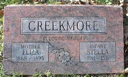 CREEKMORE, ELIZA - Crawford County, Arkansas | ELIZA CREEKMORE - Arkansas Gravestone Photos