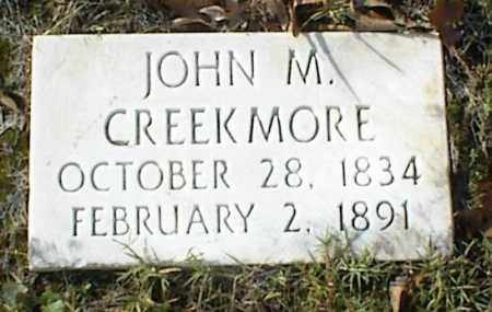 CREEKMORE, JOHN M - Crawford County, Arkansas | JOHN M CREEKMORE - Arkansas Gravestone Photos
