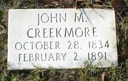 CREEKMORE, JOHN M - Crawford County, Arkansas | JOHN M CREEKMORE - Arkansas Gravestone Photos