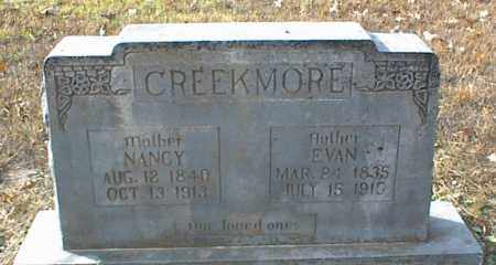 CREEKMORE, EVAN - Crawford County, Arkansas | EVAN CREEKMORE - Arkansas Gravestone Photos