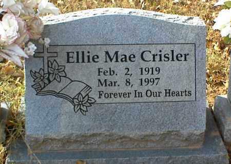 CRISLER, ELLIE MAE - Crawford County, Arkansas | ELLIE MAE CRISLER - Arkansas Gravestone Photos