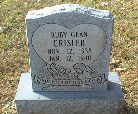 CRISLER, RUBY GEAN - Crawford County, Arkansas | RUBY GEAN CRISLER - Arkansas Gravestone Photos