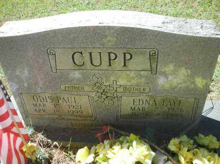 CUPP, ODIS PAUL - Crawford County, Arkansas | ODIS PAUL CUPP - Arkansas Gravestone Photos