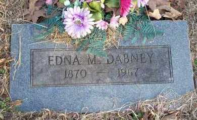 DABNEY, EDNA M - Crawford County, Arkansas | EDNA M DABNEY - Arkansas Gravestone Photos