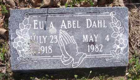 ABEL, EULA - Crawford County, Arkansas | EULA ABEL - Arkansas Gravestone Photos