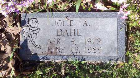 DAHL, JOLIE A - Crawford County, Arkansas | JOLIE A DAHL - Arkansas Gravestone Photos