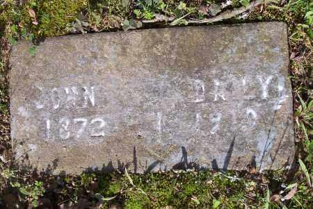 DAILY, JOHN - Crawford County, Arkansas   JOHN DAILY - Arkansas Gravestone Photos
