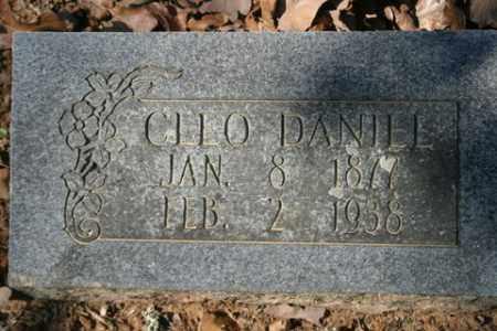 DANIEL, CLEO - Crawford County, Arkansas | CLEO DANIEL - Arkansas Gravestone Photos
