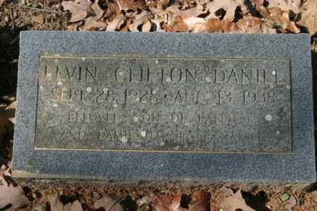 DANIEL, ELVIN CLIFTON - Crawford County, Arkansas | ELVIN CLIFTON DANIEL - Arkansas Gravestone Photos