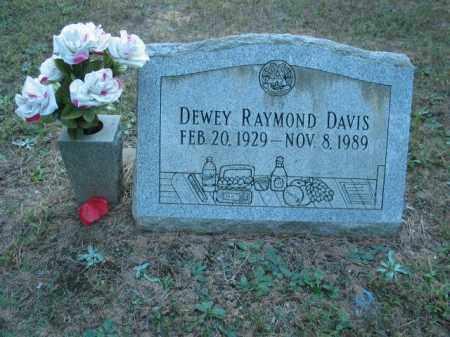 DAVIS, DEWEY RAYMOND - Crawford County, Arkansas | DEWEY RAYMOND DAVIS - Arkansas Gravestone Photos
