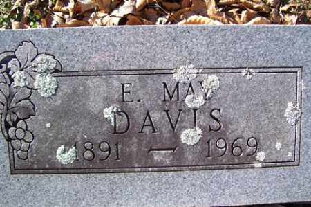 DAVIS, E. MAY - Crawford County, Arkansas | E. MAY DAVIS - Arkansas Gravestone Photos