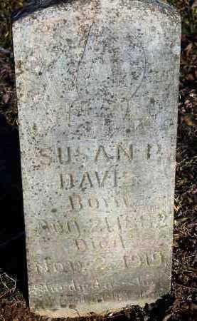 DAVIS, SUSAN P. - Crawford County, Arkansas | SUSAN P. DAVIS - Arkansas Gravestone Photos