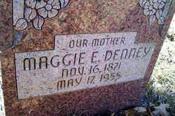 DENNEY, MAGGIE E - Crawford County, Arkansas | MAGGIE E DENNEY - Arkansas Gravestone Photos