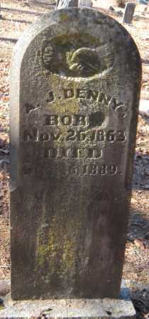 DENNY, A JESS - Crawford County, Arkansas | A JESS DENNY - Arkansas Gravestone Photos