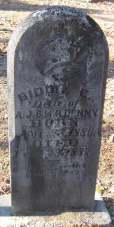 DENNY, BIDDIE E - Crawford County, Arkansas | BIDDIE E DENNY - Arkansas Gravestone Photos