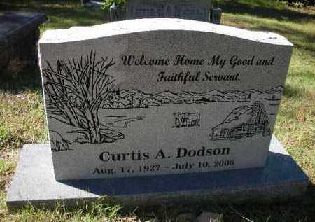 DODSON (VETERAN KOR), CURTIS A - Crawford County, Arkansas | CURTIS A DODSON (VETERAN KOR) - Arkansas Gravestone Photos