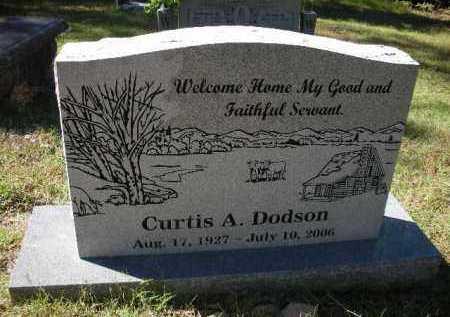 DODSON (VETERAN KOR), CURTIS A - Crawford County, Arkansas   CURTIS A DODSON (VETERAN KOR) - Arkansas Gravestone Photos