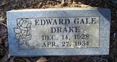 DRAKE, EDWARD GALE - Crawford County, Arkansas | EDWARD GALE DRAKE - Arkansas Gravestone Photos