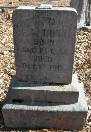 DUNN, P H - Crawford County, Arkansas | P H DUNN - Arkansas Gravestone Photos