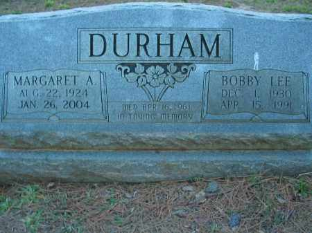 DURHAM, BOBBY LEE - Crawford County, Arkansas | BOBBY LEE DURHAM - Arkansas Gravestone Photos