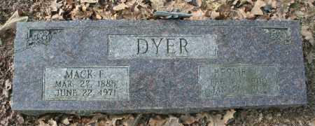 DYER, MACK - Crawford County, Arkansas | MACK DYER - Arkansas Gravestone Photos
