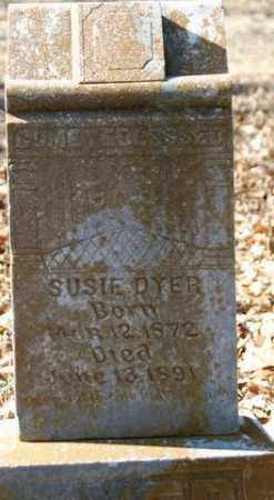 DYER, SUSIE - Crawford County, Arkansas | SUSIE DYER - Arkansas Gravestone Photos