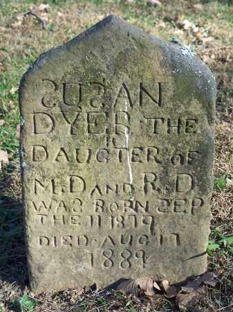 DYER, SUSAN - Crawford County, Arkansas | SUSAN DYER - Arkansas Gravestone Photos