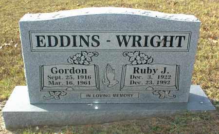 EDDINS, GORDON - Crawford County, Arkansas | GORDON EDDINS - Arkansas Gravestone Photos