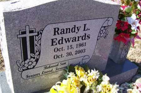 EDWARDS, RANDY LEE - Crawford County, Arkansas | RANDY LEE EDWARDS - Arkansas Gravestone Photos