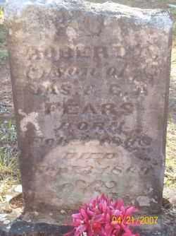 FEARS, ROBERT A - Crawford County, Arkansas | ROBERT A FEARS - Arkansas Gravestone Photos