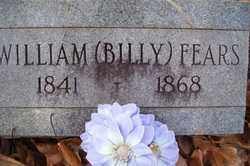 "FEARS, WILLIAM ""BILLY"" - Crawford County, Arkansas 
