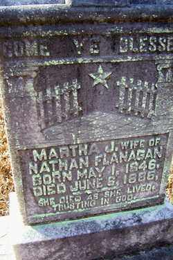 FLANAGAN, MARTHA JANE - Crawford County, Arkansas | MARTHA JANE FLANAGAN - Arkansas Gravestone Photos