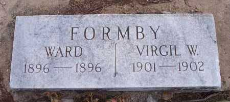 FORMBY, VIRGIL W - Crawford County, Arkansas | VIRGIL W FORMBY - Arkansas Gravestone Photos