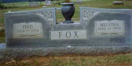 WEST FOX, MELVINA - Crawford County, Arkansas | MELVINA WEST FOX - Arkansas Gravestone Photos
