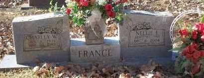 FRANCE, CHARLEY W. - Crawford County, Arkansas | CHARLEY W. FRANCE - Arkansas Gravestone Photos